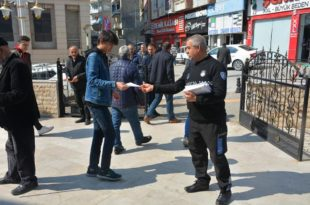 Gemlik Belediyesi Korona'ya karşı bilinçlendiriyor