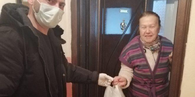 Gemlik Belediyesinden yaşlılara yardım eli