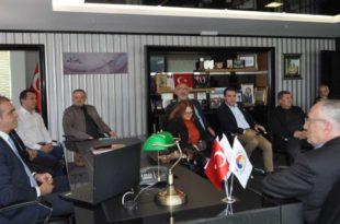 CHP'den Ticaret ve Sanayi Odası'na ziyaret