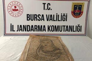 Gemlik Narlı'da Tarihi Eser Operasyonu...