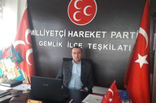 MHP Gemlik ilçe başkanı Özcanbaz'dan evdekal çağrısı...