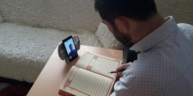 Gemlik'te Kur'an Kurslarında Uzaktan Eğitim
