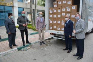 Borusan'dan bin 500 aileye erzak yardımı