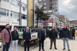 MHP'den Vefa Sosyal Kurumuna Erzak Desteği