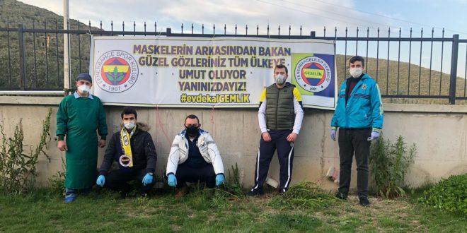 Gemlik Fenerbahçelilerden Hastane Ziyareti