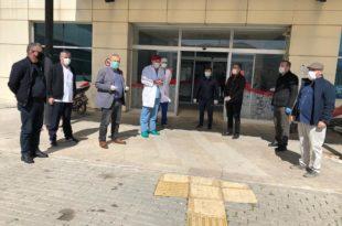 Hemşehri Dernekleri Platformundan Hastane Ziyareti