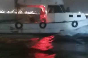 Gemlik'te Trol Teknesi Yakalandı