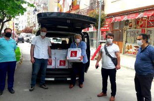 Yeniden Refah Partisi'nden Ramazan Yardımı