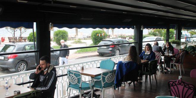 Gemlik'te Kafe ve Restoranlar Açıldı