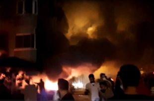 Gemlik Kumla Mahallesinde Yangın