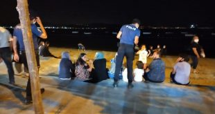 Gemlik Polisinden sahillere büyük çıkartma