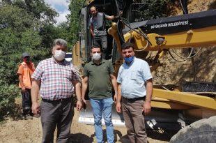 Büyükşehir'den Gemlik'te Köy Yolları Çalışması