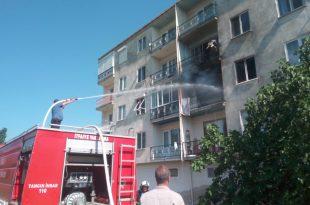 Kumla'da oturduğu evi ateşe verdi