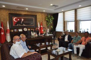 GTSO Heyeti Başsavcı Bozdağ'ı Ziyaret Etti