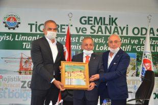 Bursa Vergi Dairesi Başkanı Nuri Karakaş GTSO Meclisini Ziyaret Etti