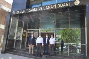 Gemlik Kaymakamı Göç'ten GTSO Ziyareti