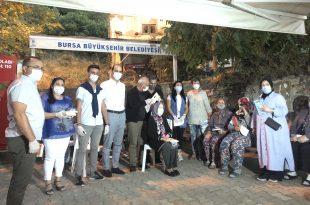 Gençali Mahallesi Sakinlerine Kitap Ve Maske Dağıtımı