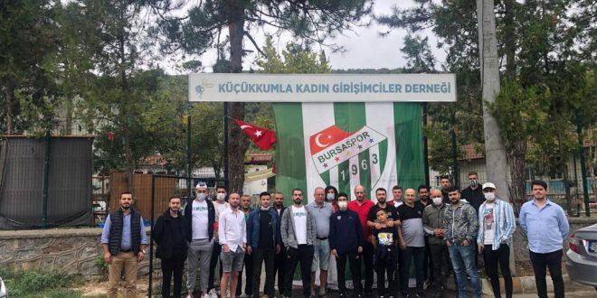 Gemlik Bursaspor Taraftarlar Derneği kahvaltıda buluştu