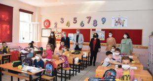 Sertaslan'dan minik öğrencilere ziyaret