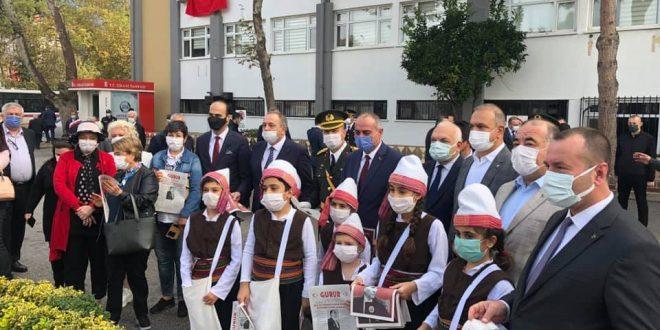 Kaymakam Göç Cumhuriyet Bayramı Tebriklerini Kabul Etti