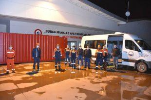Gemlik MAG Ekibi Deprem Bölgesi İzmir'e Gitti