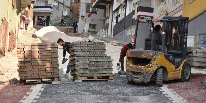 Osmaniye Mahallesi'nde cadde ve sokaklar yenileniyor