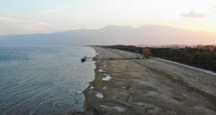 İznik gölü 100 metre çekildi