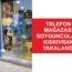 Gemlik'te telefon mağazası hırsızları yakalandı