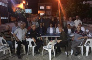 Bursa Büyükşehir Belediyesi Gemlik İtfaiyesi İftar Yemeğinde Buluştu