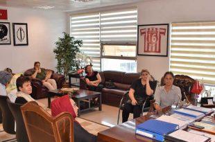 Başkan Sertaslan kadın girişimcileri ağırladı