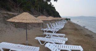 Kadınlar plajı yenilendi