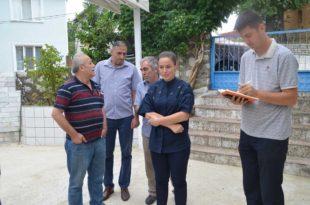 Belediye ekipleri Güvenli Köyü'nde