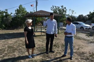 Belediye ekiplerinden Ata Mahallesi çıkarması