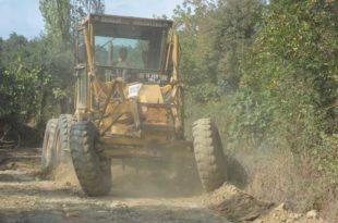 Arazi yollarına Gemlik Belediyesi desteği
