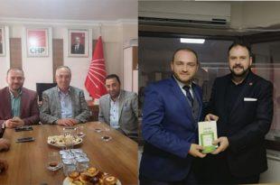 Ak Parti'den CHP ve Saadet Partisine Ziyaret