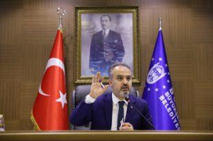Bursa'nın 2020 bütçesine onay