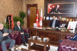 Başkan Sertaslan'dan Emniyet ve Adliye Ziyareti