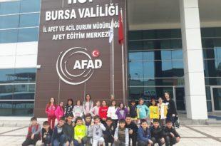 Atatürk İlkokulu Öğrencileri Afet Eğitim Merkezi Gezisi