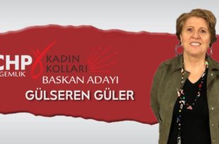 CHP Kadın Kolları İçin Güler Adaylığını Açıkladı