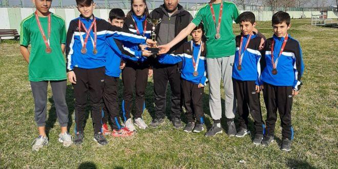 Belediye Spor Atletizim Takımı Başarılarını Sürdürüyor