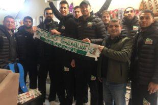 Budo Gemlik Basketbol'dan Gazetemize Ziyaret
