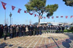18 Mart Çanakkale Zaferi ve Şehitler Günü Anması Yapıldı
