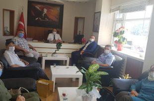 AK Parti Heyetinden Kaymakam'a Ziyaret