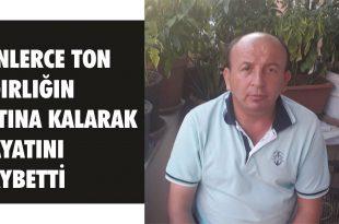 Gemlik Çimtaş'ta iş Kazası, 1işçi hayatını kaybetti