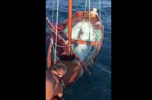 Batan Tekneyi, Cankurtaranlar Çıkardı