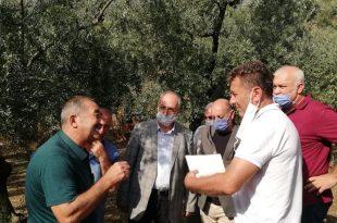CHP Heyeti Dolu Mağduru Çiftçiyi Ziyaret Etti