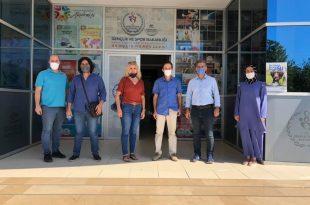 Sosyal Yaşamı Destekleme Derneğinden Gençlik Merkezi Ziyareti