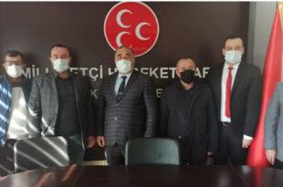 Borsa Yönetiminden MHP'ye Ziyaret