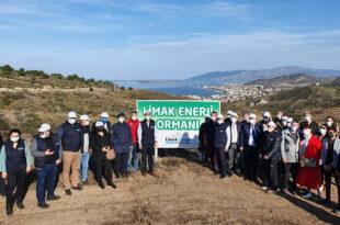 Limak Enerji'nin Yeşil Dönüşüm Ormanları Projesi Balıkesir'de Devam Ediyor