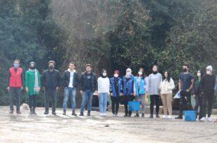 30 kişilik gönüllü genç her hafta sonu besleme yapıyor